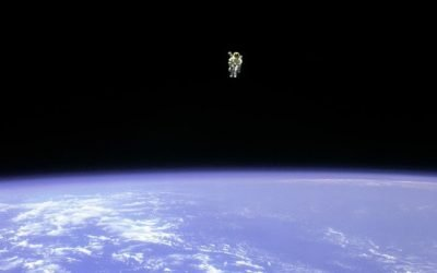 First Person to walk in Space UNTETHERED